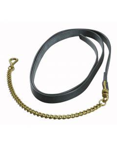 18 inch Lightweight Brass Lead Chain - Falcon Range