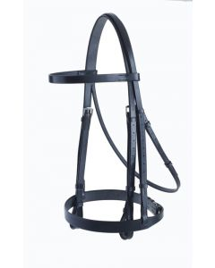 Headstall with Plain Cavesson -Falcon Range