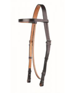 Headstall with Plain Browband - Traditional Range