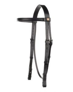 Headstall with Raised Browband - Falcon Range