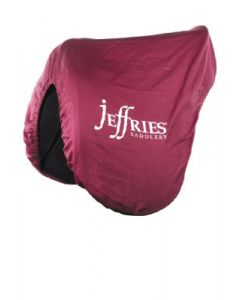 Deluxe Fleece Lined Saddles Cover with Jeffries