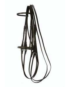 Show Weymouth Bridle with Raised Show Noseband - Falcon Range